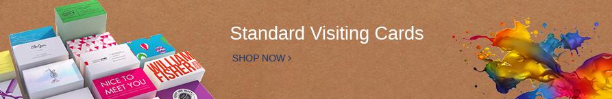 Standard Visiting Cards Print Doodles