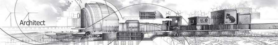 Architect Print Doodles